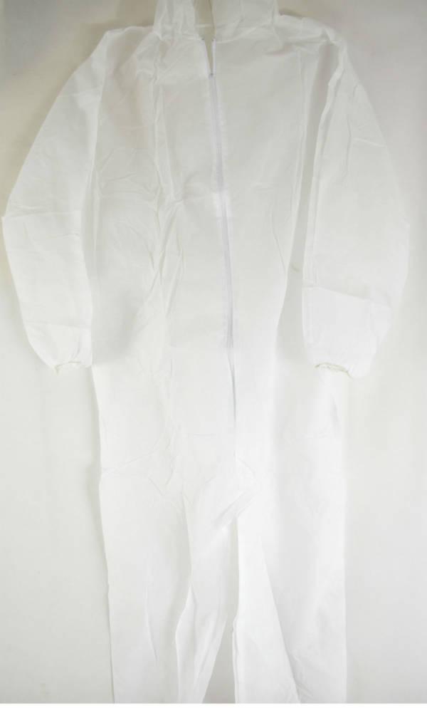 Kombinezon ochronny biały