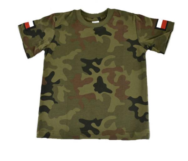 Koszulka dziecięca t-shirt w moro
