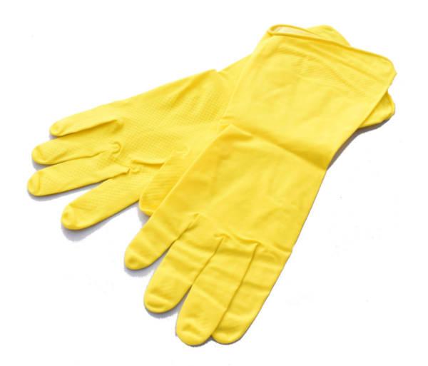 Rękawiczki gospodarcze flokowane