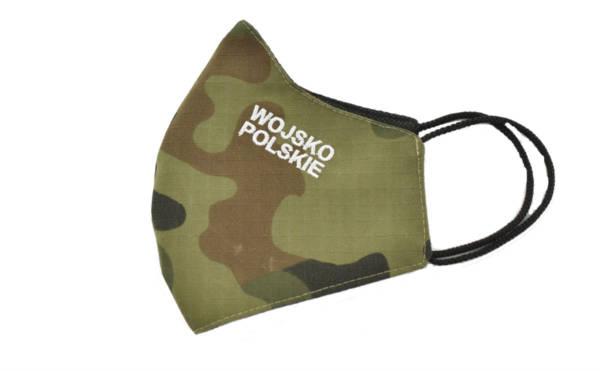 Maska maseczka ochronna haft wojsko polskie wz 2010