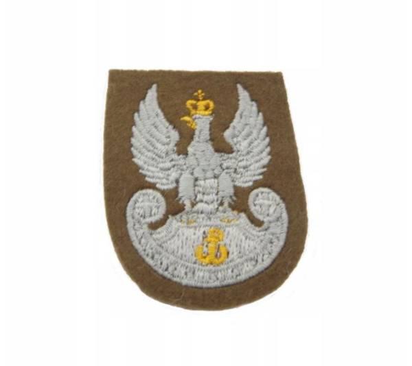 Orzełek na beret khaki wot wojska polskiego