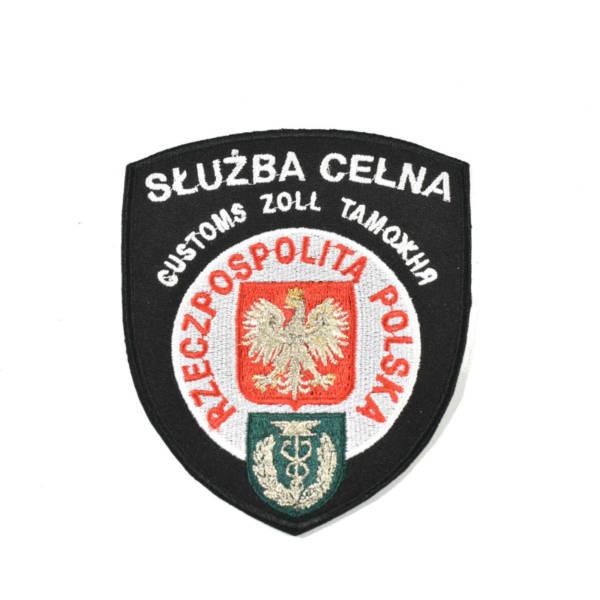 Naszywka sŁuŻba celna rzeczpospolita polska