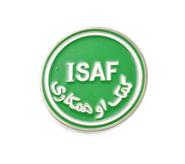Odznaka okolicznoŚciowa isaf pins