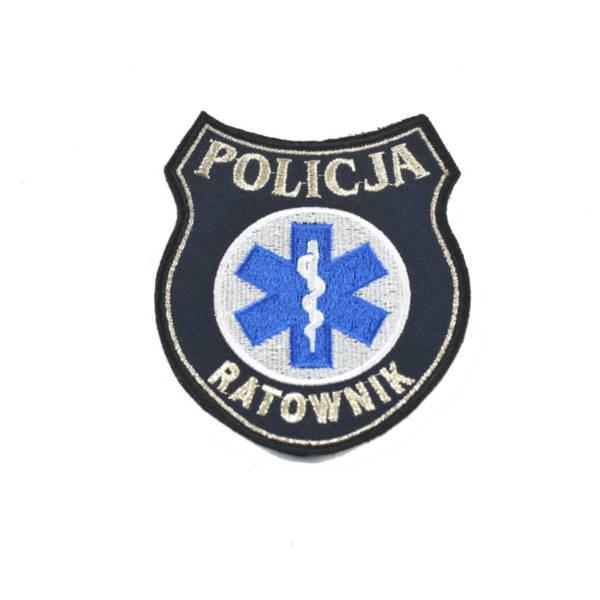 Naszywka policja ratownik