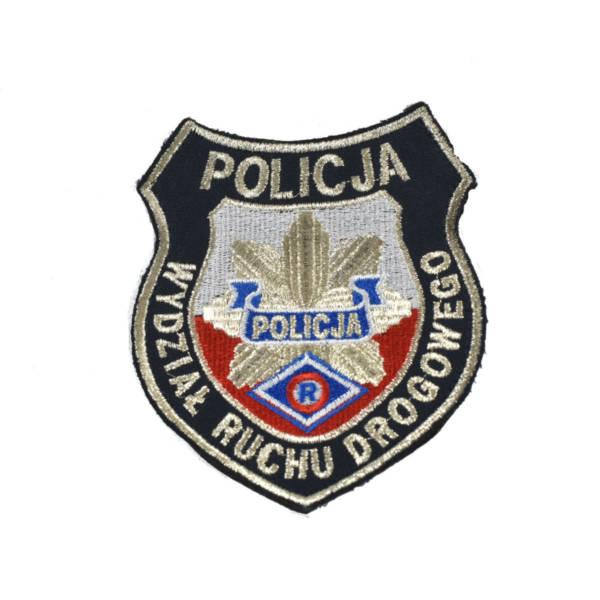 Naszywka policja wydziaŁ ruchu drogowego