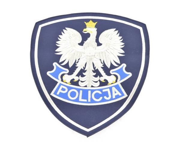 Emblemat okolicznoŚciowy policji 42 cm x 36 cm