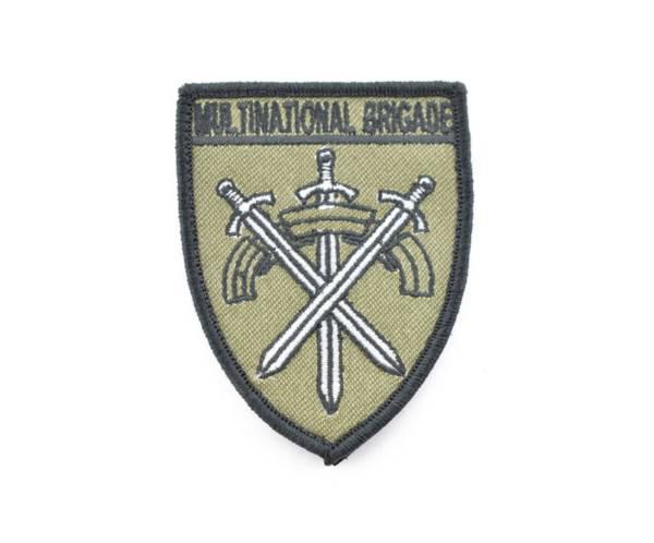 Oznaka rozpoznawcza multinational brigade naszywka