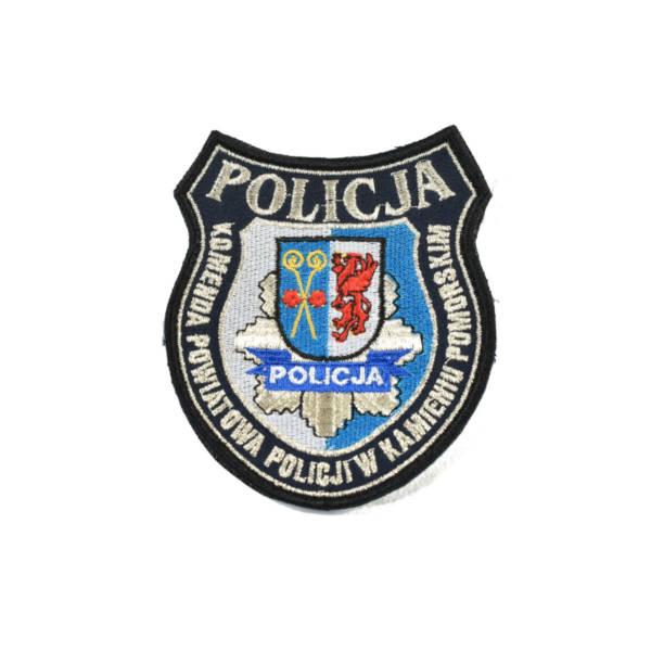 Naszywka policja komenda powiatowa policji w kamieniu pomorskim