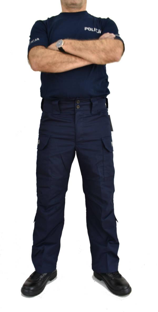 Spodnie do munduru ćwiczebnego policji wzrost 168
