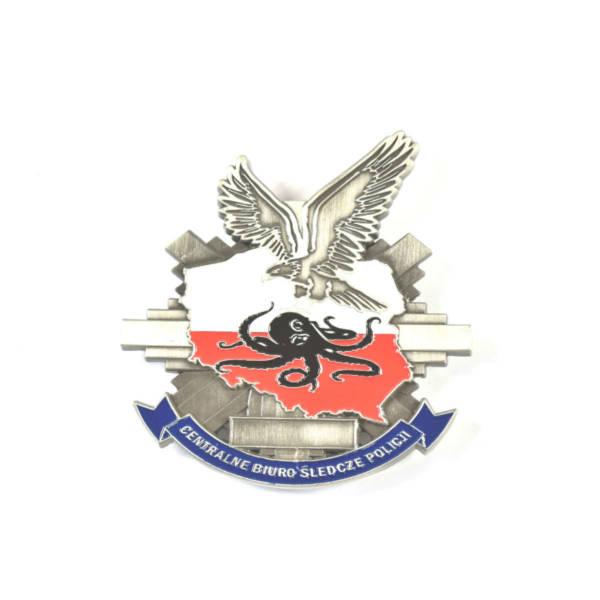 Odznaka blacha cbŚ centralne biuro Śledcze policji