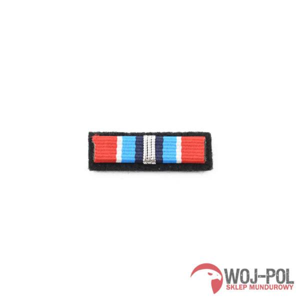 Baretka odznaka zasŁuŻony dla ochrony przeciwpoŻarowej srebrna