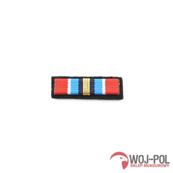 Baretka odznaka zasŁuŻony dla ochrony przeciwpoŻarowej zŁota