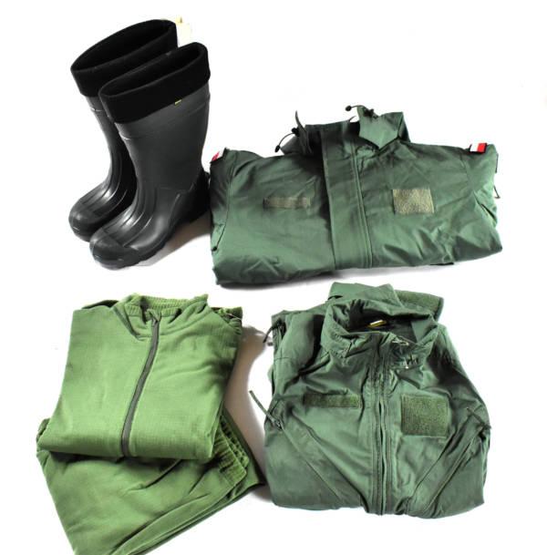 Zestaw czołgisty kombinezon kurtka ocieplacz buty