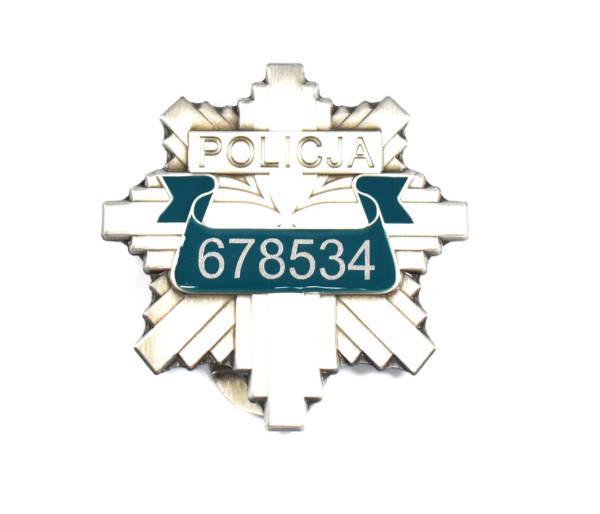 Odznaka blacha policji nr losowy 678534