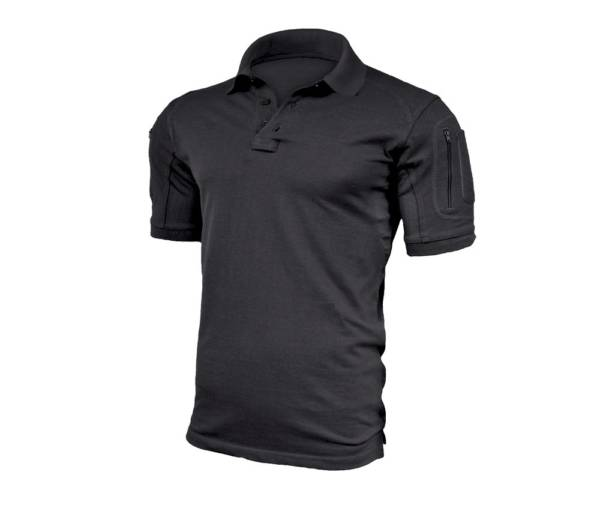 Koszulka polo elite pro czarna rozmiar m
