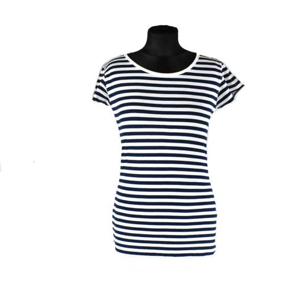 T-shirt koszulka marynarska damska