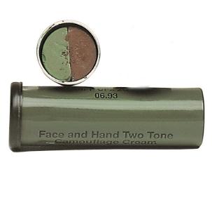 Farba maskująca w sztyfcie 2w1 brązowa/zielona