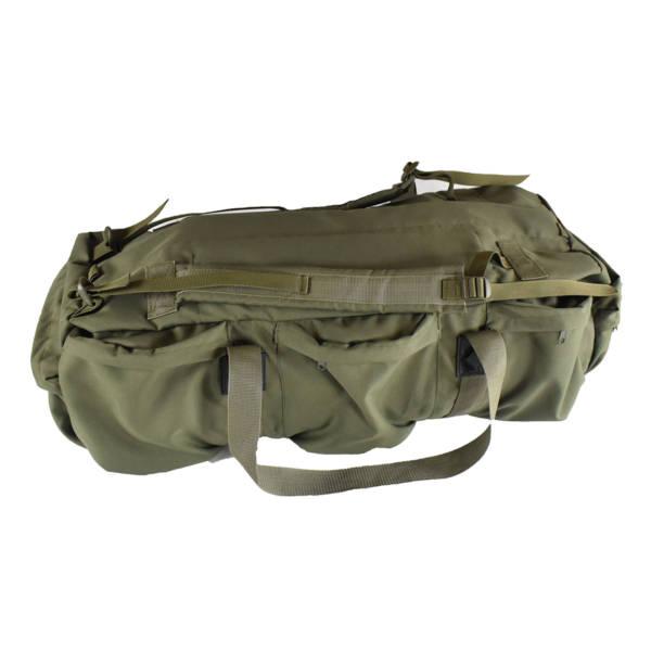 Torba plecak wojskowa podróżna olivka 2w1 cordura