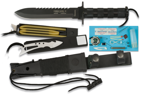 Nóż albainox survival model 31772