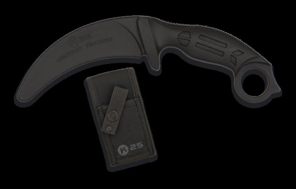 Nóż treningowy k25 czarny model 32336