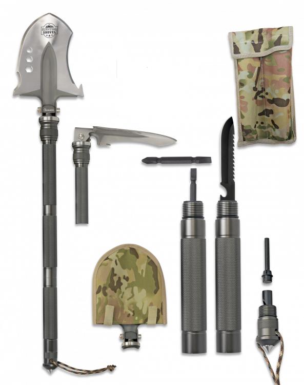 Saperka survivalowa albainox model 33085