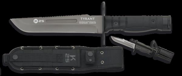 Nóż tyrant bagnet k25 model 32175