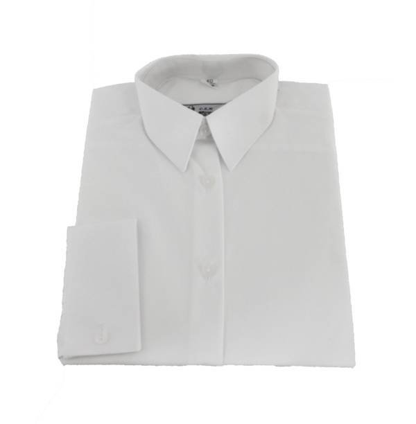 Koszula oficerska damska długi rękaw czysta 303d/mon