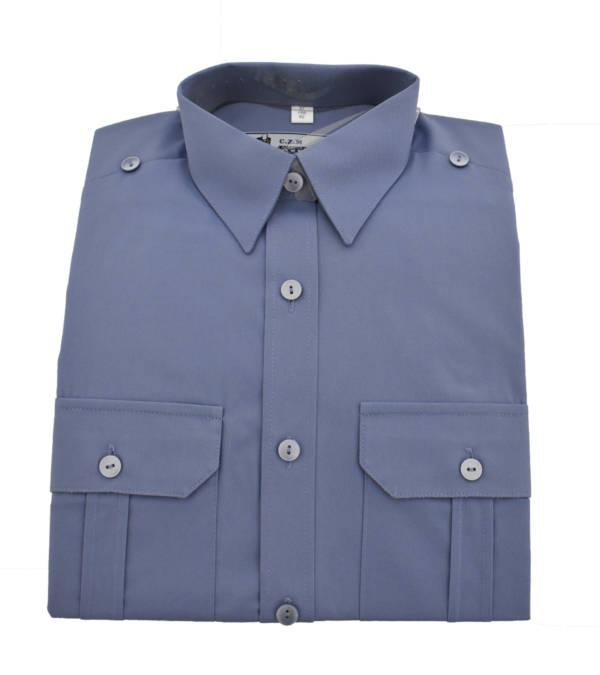 Koszulo-bluza niebieska oficerska 310/mon długi rękaw