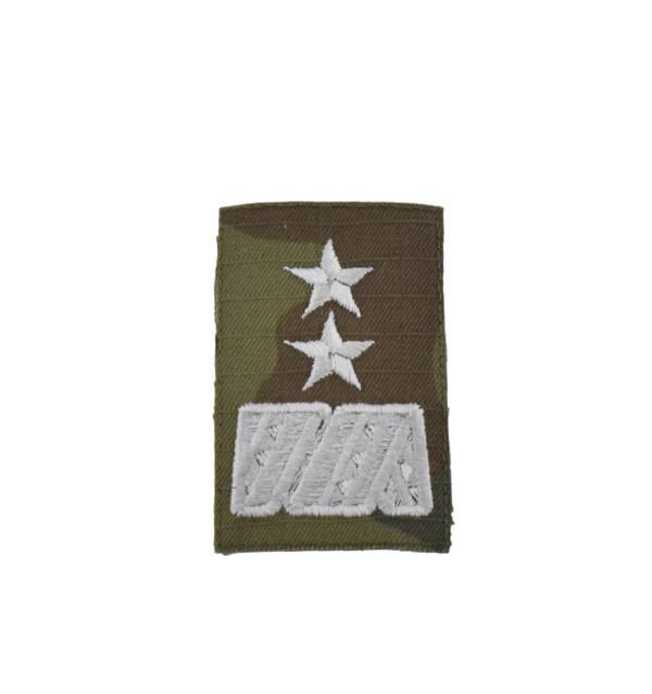 Stopień na furażerkę polową sił powietrznych generał dywizji haftowany