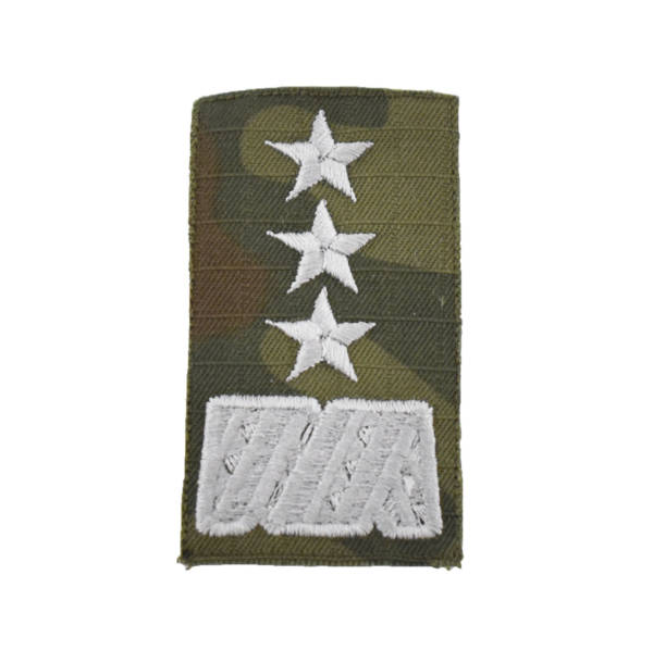 Stopień na furażerkę polową sił powietrznych generał broni haftowany