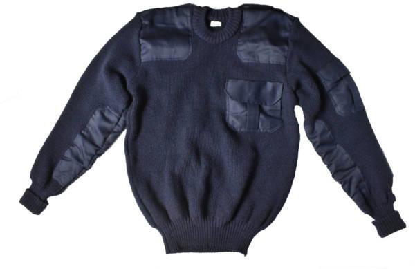 Sweter granatowy dla ochrony