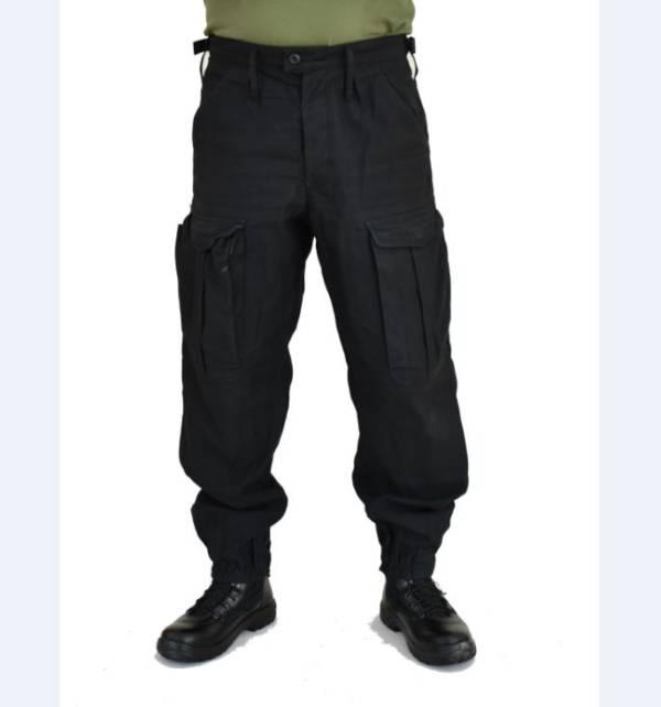 Spodnie bojówki czarne policji uŻywane wzrost 200 cm