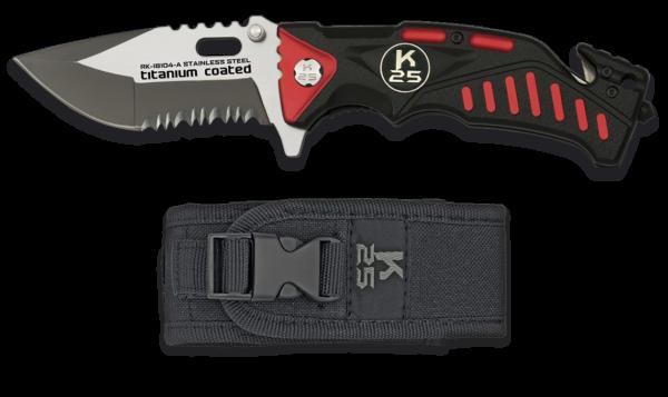 Nóż scyzoryk taktyczny k25 model 18104-a + etui