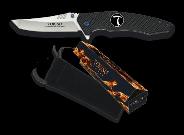 Nóż scyzoryk taktyczny g10 tokisu model 18322