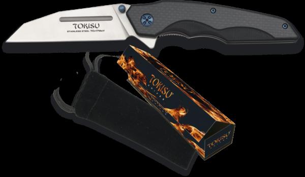 Nóż scyzoryk taktyczny g10 tokisu model 18449