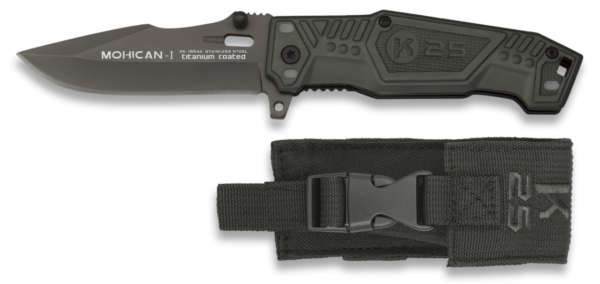 Nóż taktyczny k25 mohican 1 model 19544 + etui