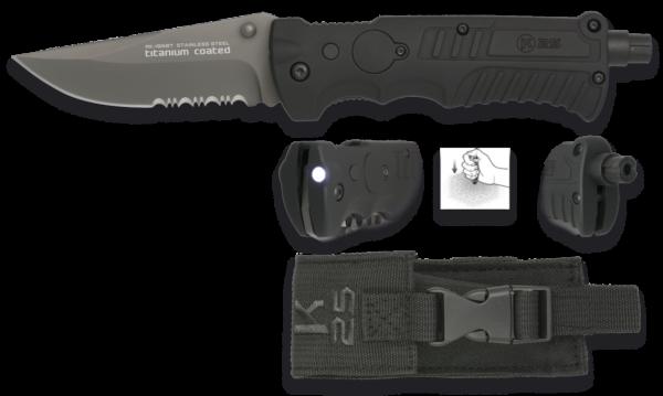 Nóż scyzoryk taktyczny k25 model 19587 + etui