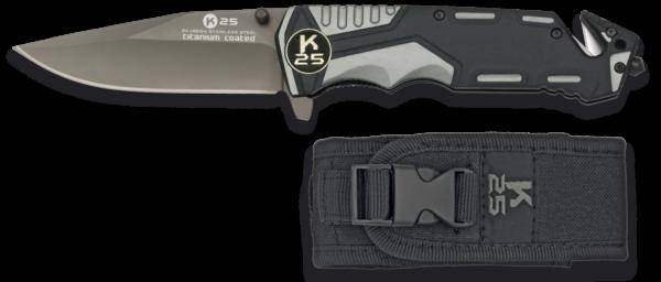 Nóż scyzoryk taktyczny k25 model 19654 + etui
