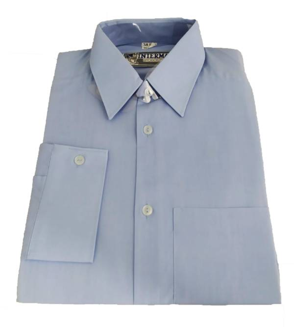 Koszula niebieska dla ochrony długi rękaw