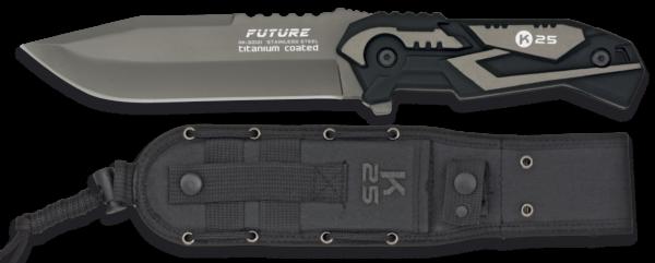 Nóż taktyczny future szary k25 model 32121