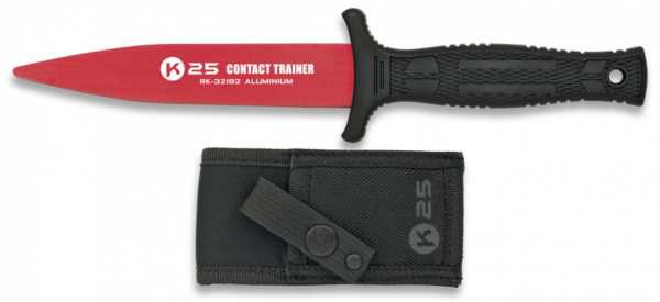 Nóż treningowy k25 czerwony model 32192