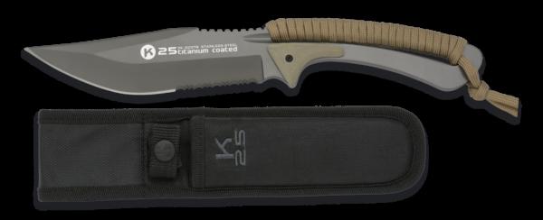 Nóż taktyczny k25 kojot model 32378