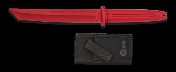 Nóż treningowy k25 model 32413 czerwony