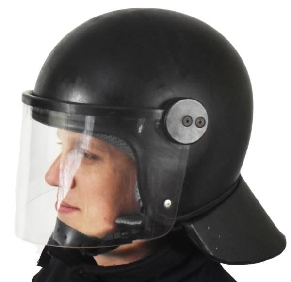 HeŁm kask maskpol dla ochrony policji