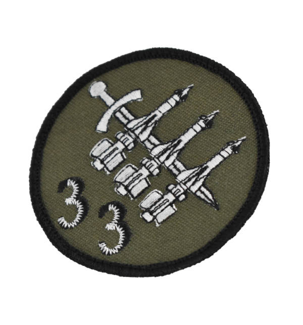Naszywka 33 dywizjon rakietowy obrony powietrznej